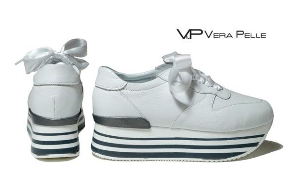 обувки Vera Pelle модел - Rom бяла кожа